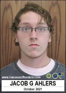 Jacob Glen Ahlers a registered Sex Offender of Iowa