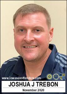 Joshua James Trebon a registered Sex Offender of Iowa