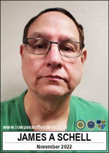 James Alan Schell a registered Sex Offender of Iowa