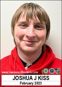 Joshua Joe Kiss a registered Sex Offender of Iowa