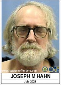 Joseph Michael Hahn a registered Sex Offender of Iowa