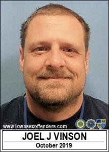 Joel Jeffrey Vinson a registered Sex Offender of Iowa