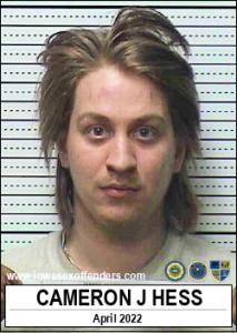 Cameron James Hess a registered Sex Offender of Iowa