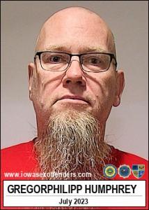 Gregorphilipp Humphrey a registered Sex Offender of Iowa