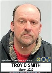 Troy Dean Smith a registered Sex Offender of Iowa