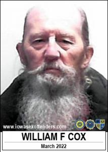 William Frederick Cox a registered Sex Offender of Iowa