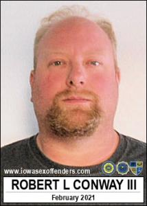 Robert Lloyd Conway III a registered Sex Offender of Iowa