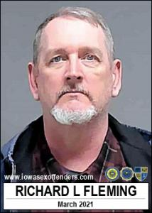 Richard Lavern Fleming a registered Sex Offender of Iowa