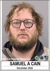 Samuel Allen Cain a registered Sex Offender of Iowa