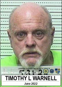 Timothy Lee Warnell a registered Sex Offender of Iowa