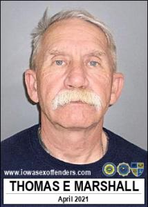Thomas Eugene Marshall a registered Sex Offender of Iowa