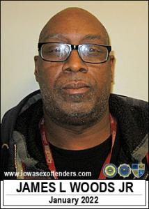 James Lancelot Woods Jr a registered Sex Offender of Iowa