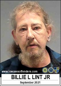 Billie Lee Lint Jr a registered Sex Offender of Iowa