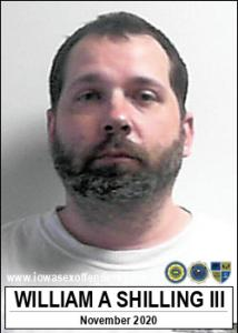 William Andrew Shilling III a registered Sex Offender of Iowa