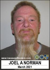 Joel Arnold Norman a registered Sex Offender of Iowa