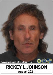 Rickey Lee Johnson a registered Sex Offender of Iowa
