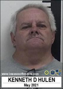 Kenneth Dean Hulen a registered Sex Offender of Iowa