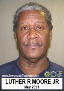 Luther Ronald Moore Jr a registered Sex Offender of Iowa