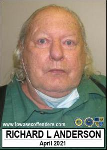 Richard Lee Anderson a registered Sex Offender of Iowa