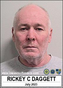 Rickey Carl Daggett a registered Sex Offender of Iowa