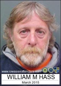 William M Hass a registered Sex Offender of Iowa