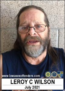 Leroy Charles Wilson a registered Sex Offender of Iowa