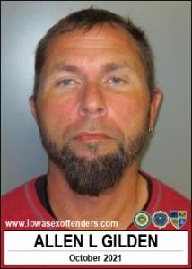 Allen Linn Gilden a registered Sex Offender of Iowa