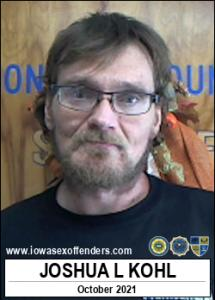 Joshua Lee Kohl a registered Sex Offender of Iowa
