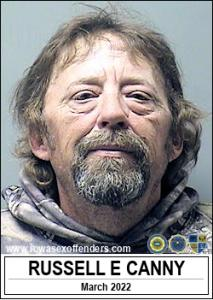 Russell Eugene Canny a registered Sex Offender of Iowa