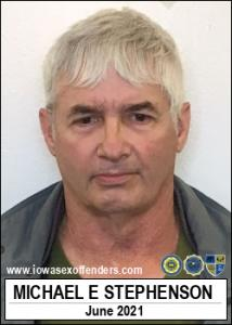Michael Edward Stephenson a registered Sex Offender of Iowa