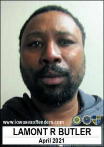 Lamont Randell Butler a registered Sex Offender of Iowa