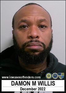 Damon Montez Willis a registered Sex Offender of Iowa