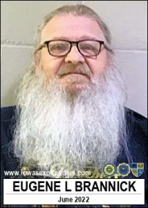 Eugene Lee Brannick a registered Sex Offender of Iowa