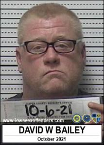David Wayne Bailey a registered Sex Offender of Iowa