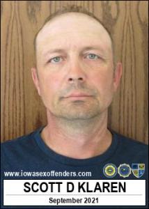 Scott David Klaren a registered Sex Offender of Iowa