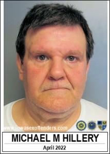 Michael Mark Hillery a registered Sex Offender of Iowa