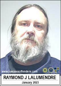 Raymond John Lalumendre a registered Sex Offender of Iowa
