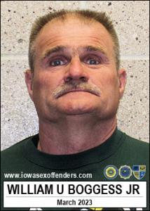 William Urban Boggess Jr a registered Sex Offender of Iowa