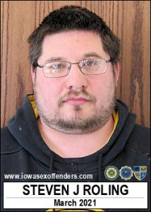 Steven James Roling a registered Sex Offender of Iowa