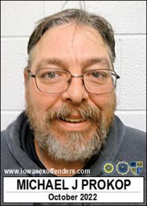 Michael Joseph Prokop a registered Sex Offender of Iowa