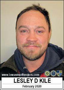 Lesley Daniel Kile a registered Sex Offender of Iowa
