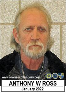 Anthony Wayne Ross a registered Sex Offender of Iowa