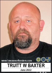 Truitt Wayne Baxter a registered Sex Offender of Iowa