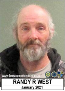 Randy Randall West a registered Sex Offender of Iowa