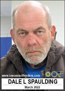 Dale Lee Spaulding a registered Sex Offender of Iowa