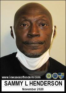 Samuel Lee Henderson a registered Sex Offender of Iowa