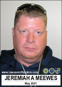 Jeremiah Allan Meewes a registered Sex Offender of Iowa