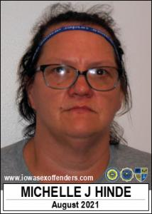 Michelle Jo Hinde a registered Sex Offender of Iowa