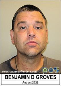 Benjamin David Groves a registered Sex Offender of Iowa