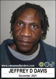 Jeffrey Dewayne Davis a registered Sex Offender of Iowa